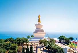 The Enlightenment Stupa of Benalmádena