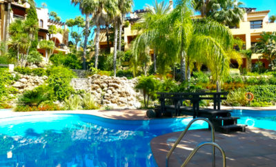 Luxury ground floor apartment, Estepona