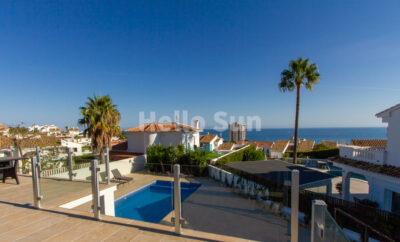 Spectacular Villa with Stunning Sea Views in Riviera del Sol!