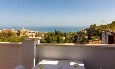 Lovely Apartment with Panoramic Views in Benalmadena, Málaga